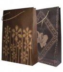 Tas Kertas 3 Gambar batik & Bunga 2 (22 x 6 x 32 cm)