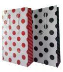 Polkadot Merah & Hitam (19 x 7 x 32 cm)