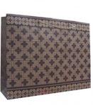 Tas batik kawung bunga (45 x 13 x 35 cm)